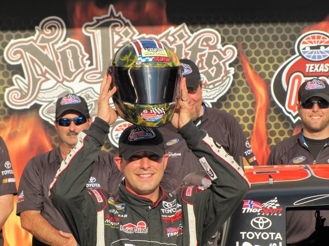 Johnny Sauter scores pole for WinStar World Casino 400 at Texas Motor Speedway ~ Skirts and Scuffs