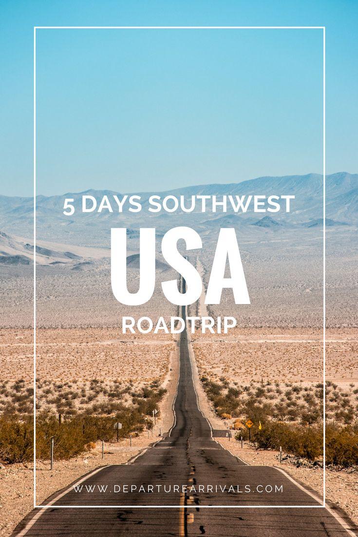 5 Days USA Roadtrip