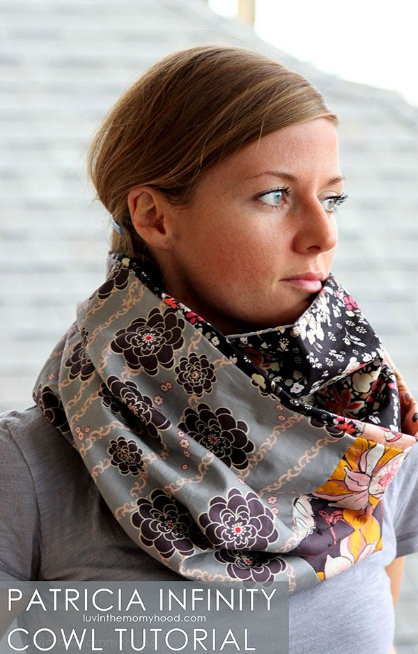 Fat Quarter Gang - Patricia Infinity Cowl by luvinthemommyhood - Art Gallery Fabrics - The Creative Blog