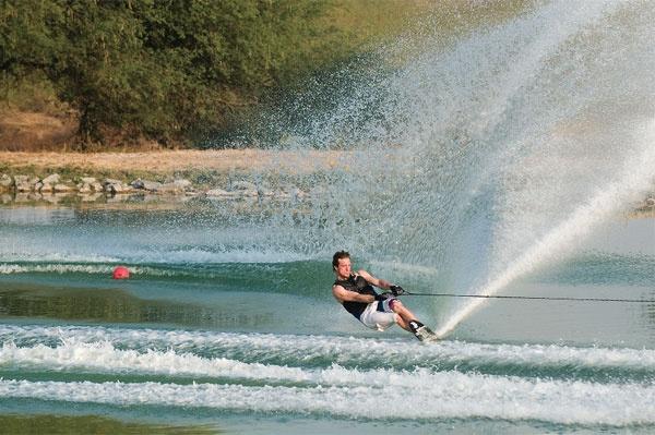 Good advice for water ski wake crossing success.