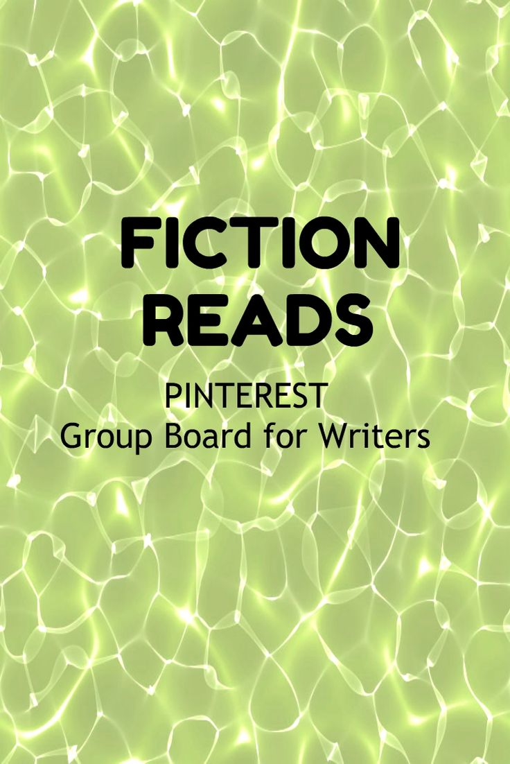 #fictionreads #writers #authors Starting a new group board for WRITERS of Fiction as we need more groups on Pinterest! Check the board rules then leave a comment on this pin for an invite if you want to promote your books on Pinterest!