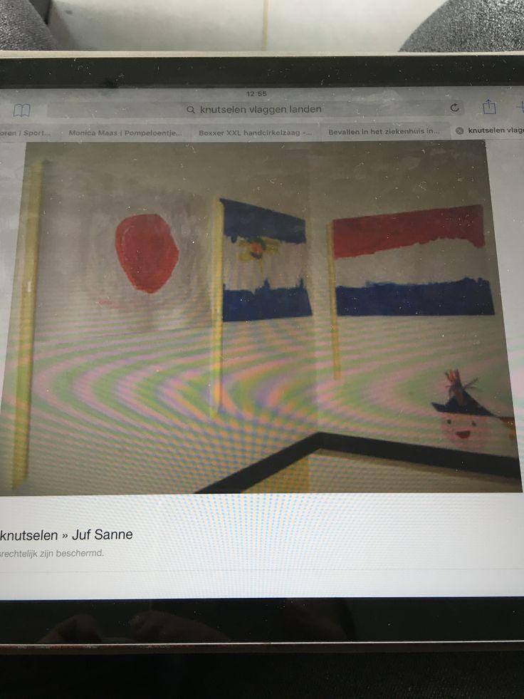 Vlag schilderen