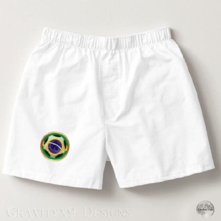 Brazil / Brasil Soccer Ball Boxers   Zazzle.com