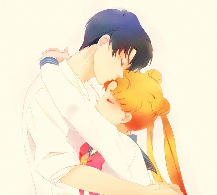 Usagi and Darien <3 manga #anime #cute