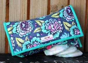 Diaper Clutch pattern - such a great size for carrying the essentials!