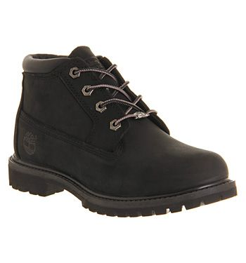 Timberland Nellie Chukka Double Waterproof Boot Black Mono - Ankle Boots