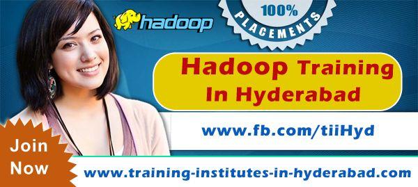 Hadoop Onlline Training institutes in Hyderabad, Ameerpet, India.  Visit: www.training-institutes-in-hyderabad.com