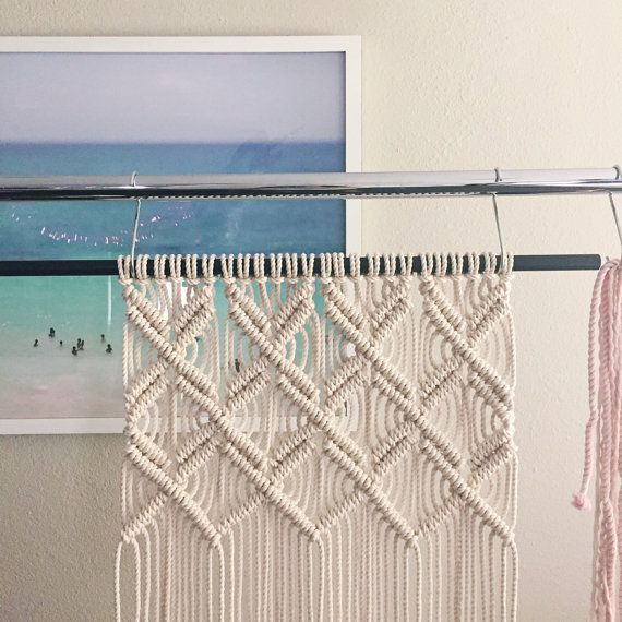 How To Make A Macrame Wall Hanging 307 best macrame images on pinterest | macrame wall hangings
