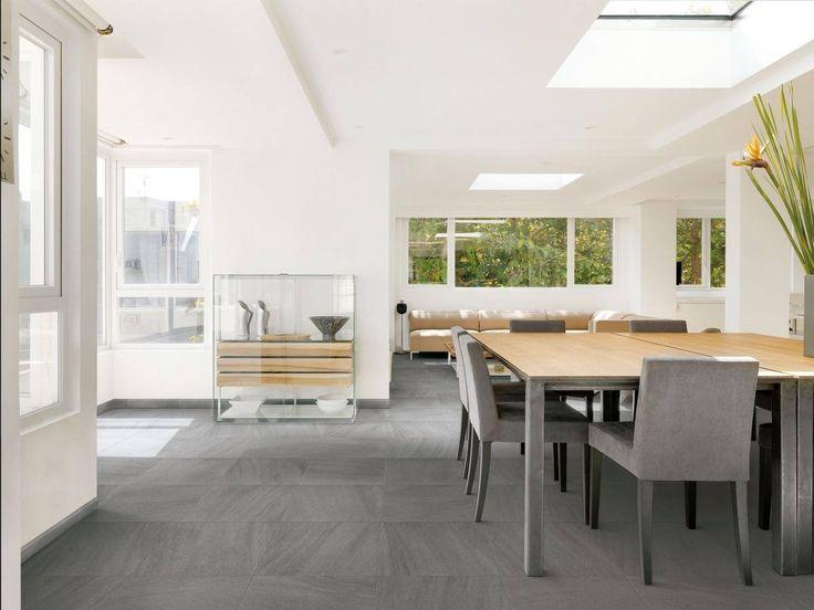 Kto povedal že šedá je nudná? Who says that grey is boring? #tiles #floortiles  #design