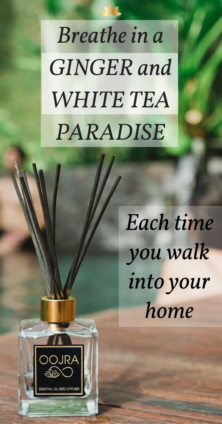 Ginger and White Tea Essential Oil | Elegant Home Fragrance | Reed Diffuser | Shop Now: https://shop.oojra.com/products/loas-white-tea-and-ginger-essential-oil-reed-diffuser?variant=28977317830