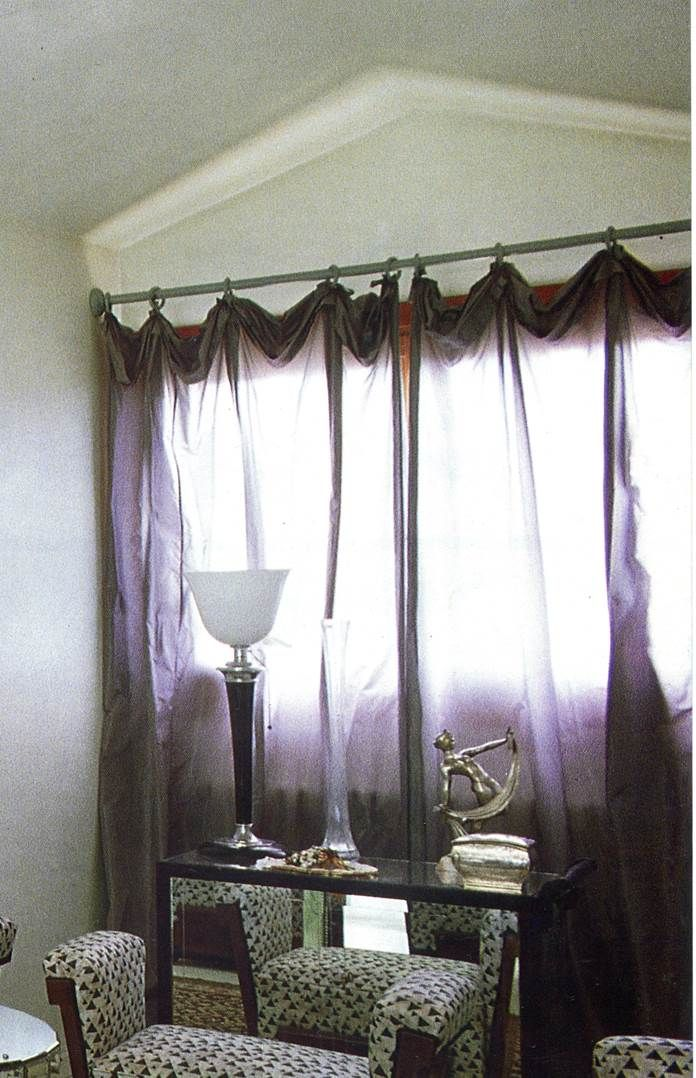 Amazing Folded Up And Droopy Sheer Curtain Heading Which Gives A
