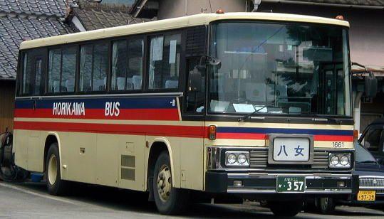 堀川バス(八女・1661) ・357