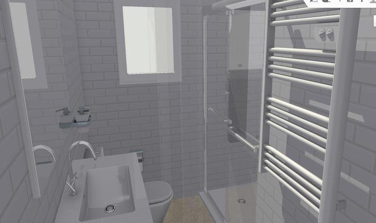 Interior de baño I