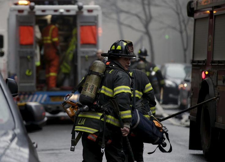 Building collapse in New York City's East Village