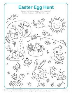 Lots of Easter Printables