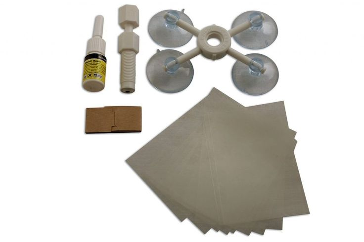 Windscreen Chip Repair Kit - DIY Repair with near professional results - Maxzi