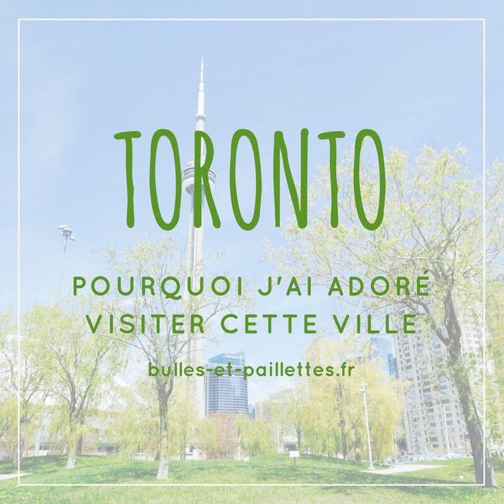 Toronto, une ville dans laquelle je ne suis restée que quelques heures mais que j'ai adoré ! Et vous allez vite comprendre pourquoi en lisant mon article :-)