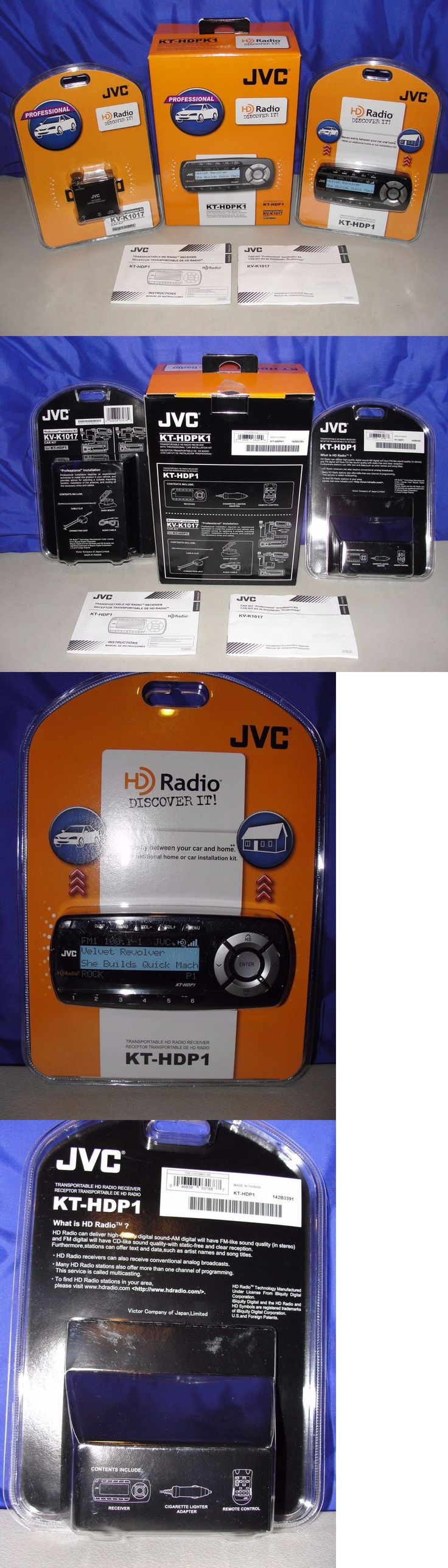 Other car audio jvc transportable hd radio receiver kt hdp1 installation kit