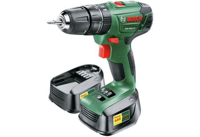 The Psb 1800 Li 2 2 Batt Is A Cordless Lithium Ion Powered Hammer Drill Driver Its Powerful Co Battery Drill Cordless Drill Reviews Cordless Hammer Drill