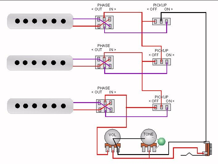 Brian May Wiring Schematic