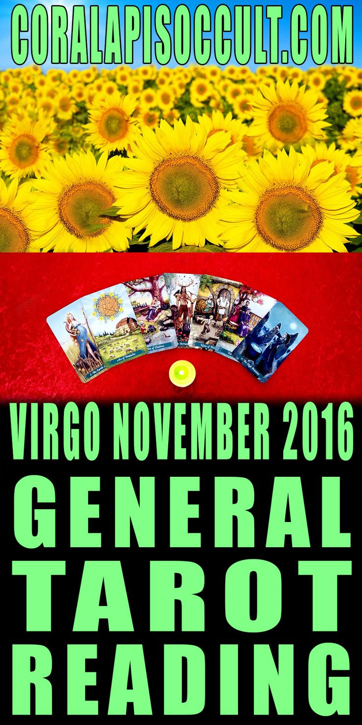 VIRGO NOVEMBER 2016 TAROTSCOPE ♍🔮 TAROT READING - For personal Tarot readings & consultations please visit my website: http://www.CoralapisOccult.com    #tarotscope #astrology #tarotscopes #tarotcards #tarotcards #tarot #tarotreading #november2016 #novembertarot #tarotreadings #coralapis #coralapisoccult #virgo #virgorising #virgotarotscope #virgotarot #virgoreading #virgonovember2016 #reading #rising #risingsign