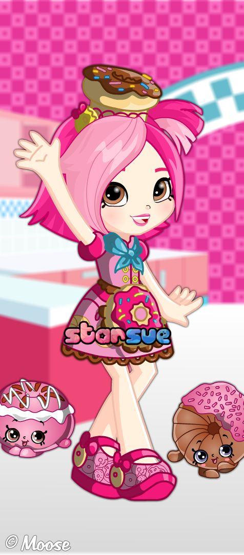 Shopkins Chef Club Donatina Dress Up Game : http://www.starsue.net/game/Shopkins-Chef-Club-Donatina.html Have Fun! ♥