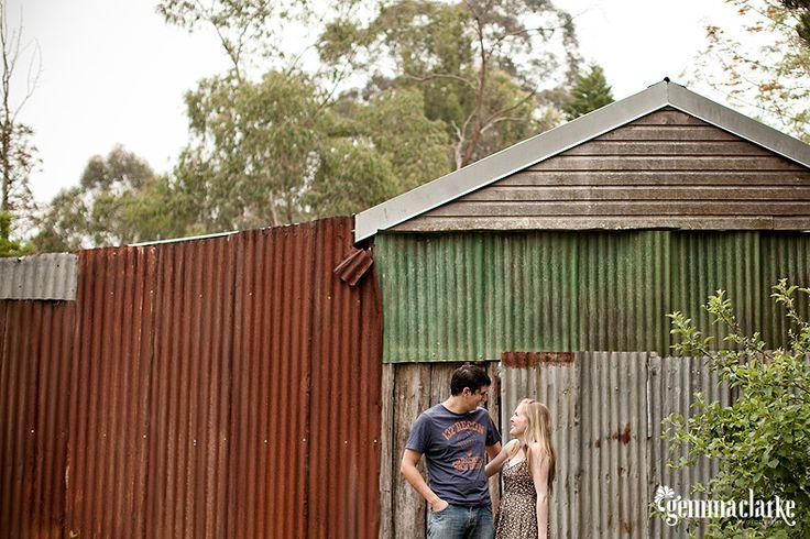 Sarah and Chris' Countryside Portraits – Galston