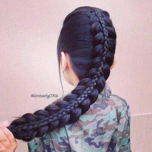 Peinados para chicas y niñas de pelo largo
