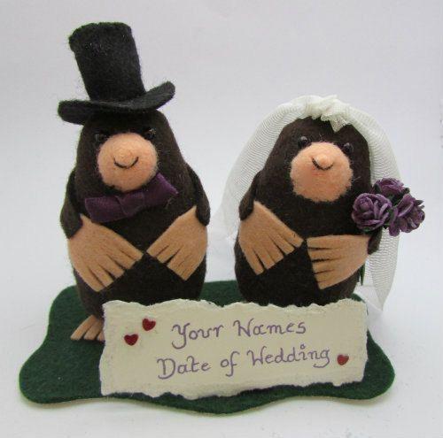 Wedding cake topper...well I never!!