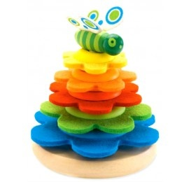 Butterfly Stacker by Djeco
