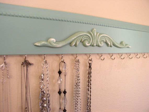 neckace organizer This economical jewelry rack is a by Gotahangup, $29.00