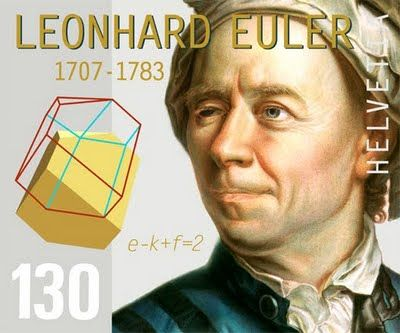 """Leonhard Euler, pronounced """"Oiler"""";15 April 1707 – 18 September 1783) A Swiss mathematician & physicist. He made important discoveries in fields as diverse as infinitesimal calculus & graph theory. He also introduced much of the modern mathematical terminology & notation, particularly for mathematical analysis, such as the notion of a mathematical function. He is also renowned for his work in mechanics, fluid dynamics, optics, astronomy & one of the greatest & most prolific mathematicians…"""