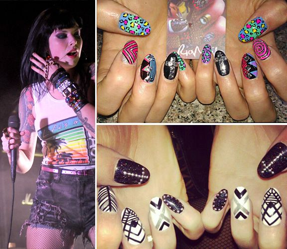 Alexis Krauss made top 2013 nail art along with Katie Perry and others