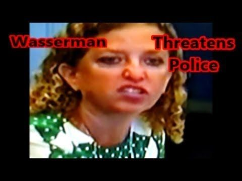 "Debbie Wasserman Got Bad News from Police ""Files Can be Recovered"" from Smashed Hard Drives. - YouTube"