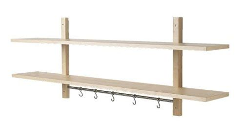 Wouldn't this cool Ikea rack be perfect to organize accessories?