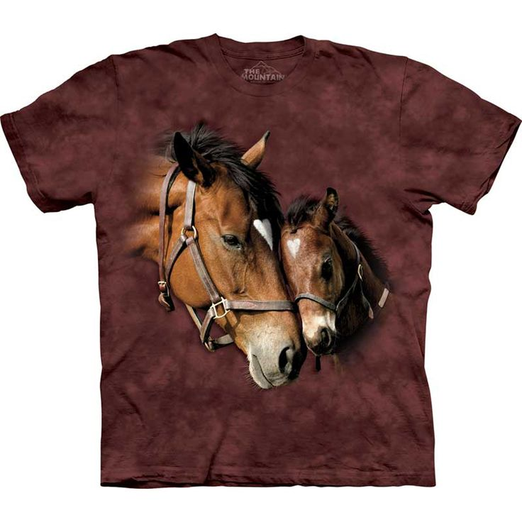 The Mountain Two Hearts T-Shirt
