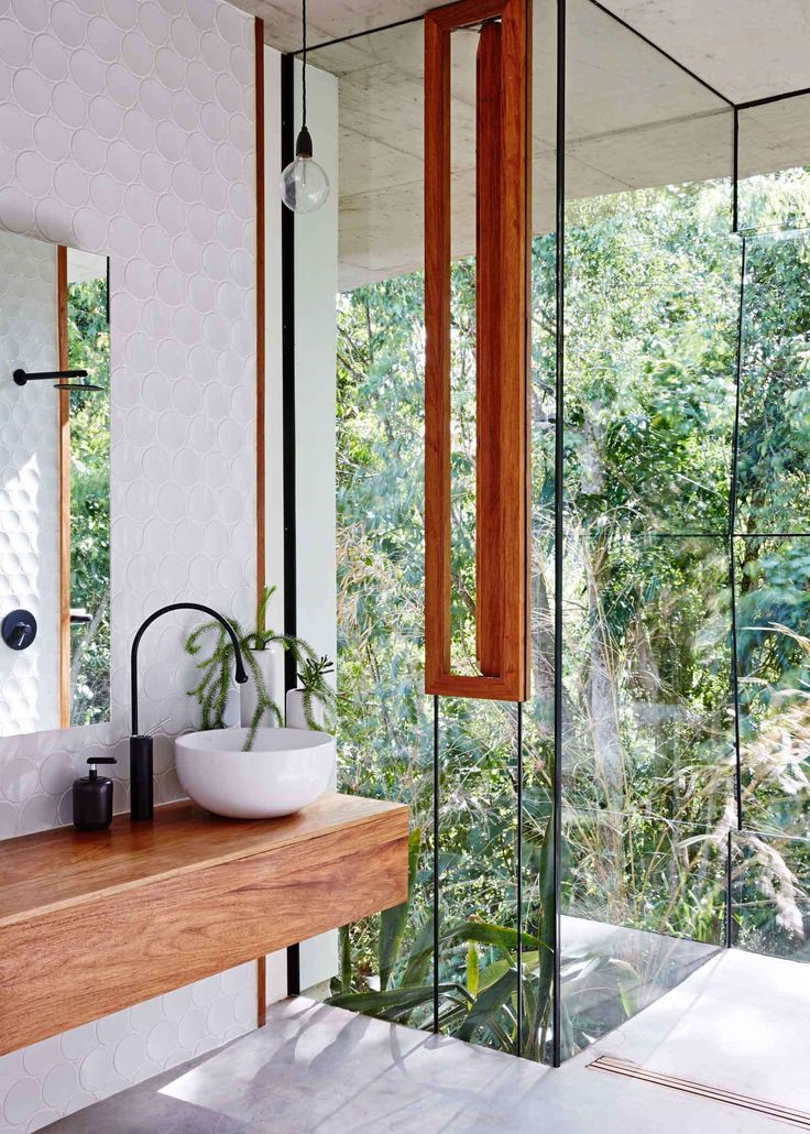 Jesse Bennet, Planchonella House, Cairns, Australia, bathroom | architecture interiors