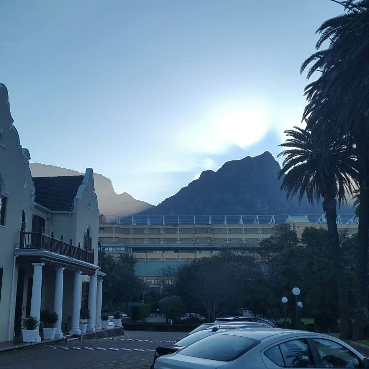 Kelvin Grove club. Cape Town.  Beautiful view, photo just doesn't do it justice.  The venue for Chris & Jeanine's wedding. #capetown #southafrica #nature