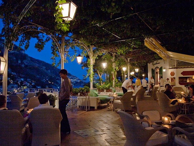 Hotel Poseidon in Positano .. for me this is a top ten favorite restaurant hotel in the world...... j michael