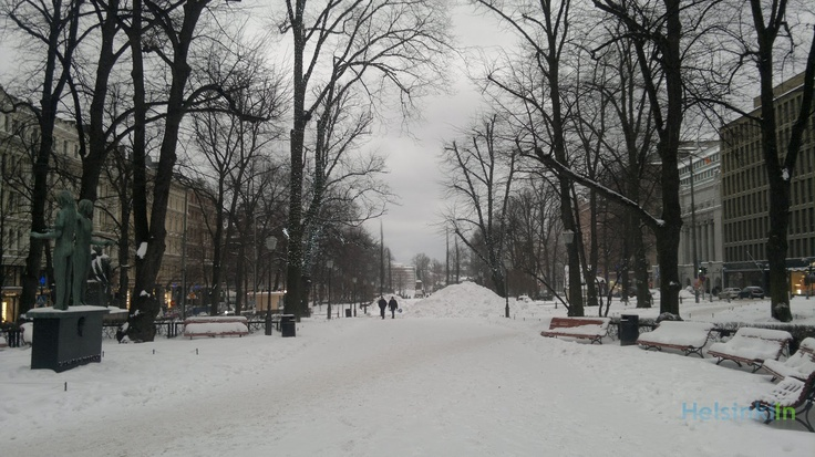 Esplanadi in December 2012