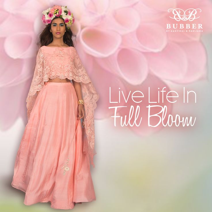 Let Yourself Bloom In Bubber Couture's ASTER 'Sakura' Ensemble! Order This Look Today! Contact Us: 📞 9819980846/9820709875  🏠 The Bubber Couture Store. 📍 https://goo.gl/maps/YvPDNrLEuBv 📧 info@bubbercouture.com . . . . #sakura #cherryblossom #elegant #beautiful #cape #lehenga #indianwear #indianbride #traditional #womenstyle #stylish #bride #bridesmaid #instafashion #instastyle #instagood #ootd #womesstyle #trendsetter #handcrafted #couture #luxury #bespoketailoring #modern #contemporary