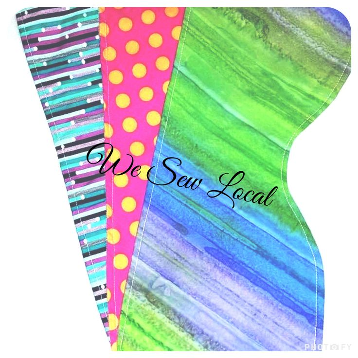 Baby Burp Cloths -  We Love to Sew