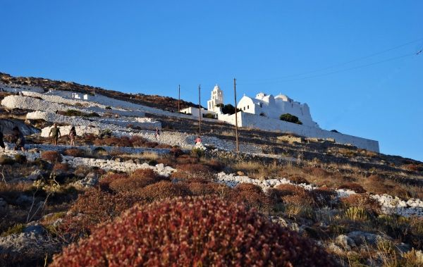 Church of Panagia, up on the hill