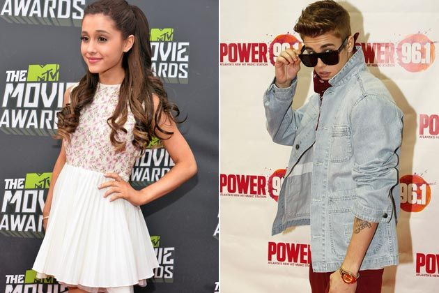 "'It's ridiculous, "" Ariana Grande talks about love triangle with Justin Bieber and Nathan Sykes"