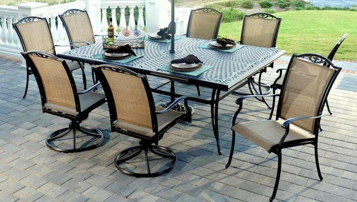 elegant-agio-patio-furniture-with-black-metal-framed