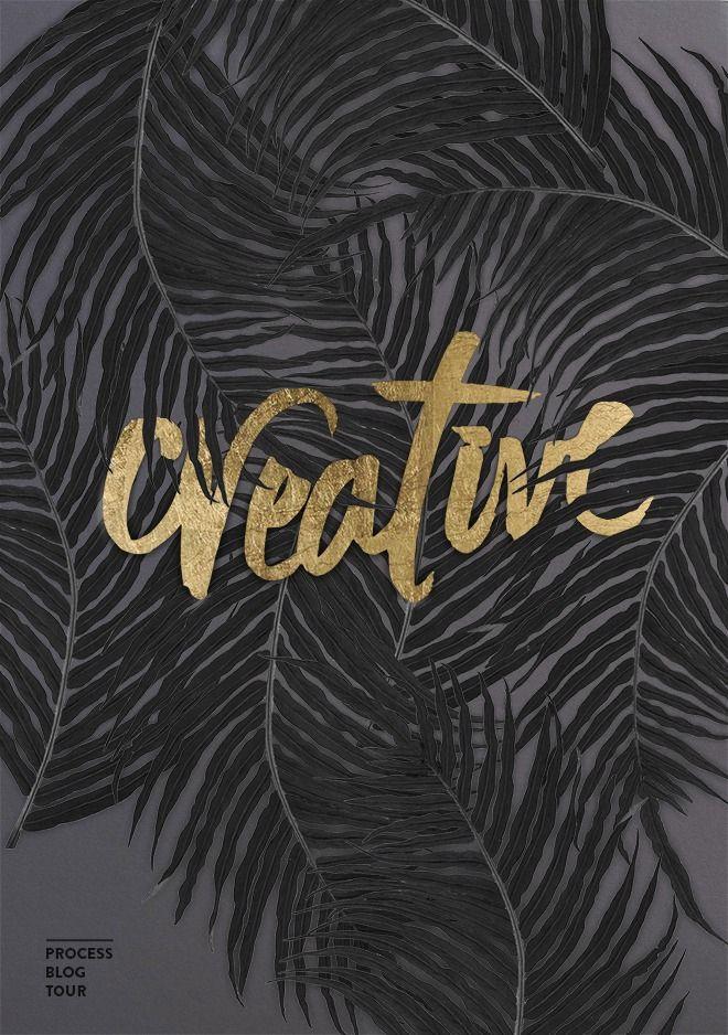 Cocorrina: CREATIVE PROCESS BLOG TOUR — Designspiration