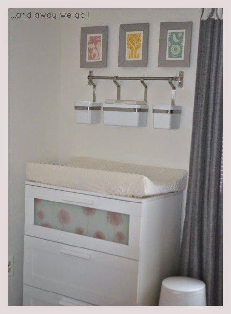 A dresser change table for Baby Girl!! {brimnes hack} Baby {ideas} Pinterest We, Ikea