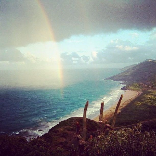 Rainbows are even more magical in St. Kitts