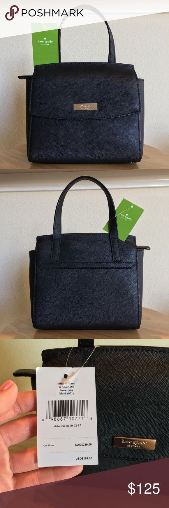 """NWT🔥Kate Spade ♠️ Mini Alisanne Laurel Way NEW WITH TAGS Kate Spade ♠️ Mini Alisaane Laurel Way Crossbody 😍. This purse is too fabulous for words ❤️!!!! It literally looks good with EVERYTHING 😍. Interior features organizer pocket. Strap drop measures 23"""" (adjustable). Snap closure. ♠️ kate spade Bags Crossbody Bags"""