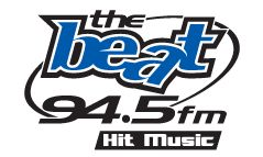 The Beat 94.5 FM Hit Music!  Weekly Top 20